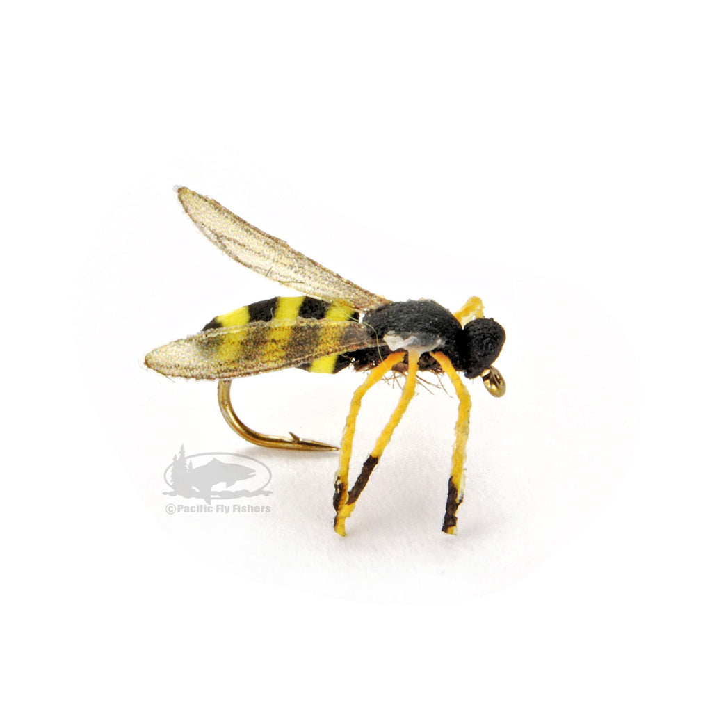 True Wasp - Yellow Jacket - Terrestrial Dry - Fly Fishing Flies