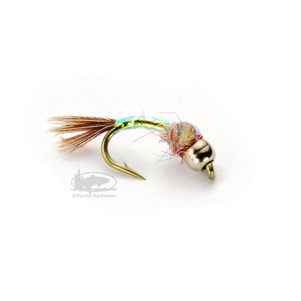 Tungsten Rainbow Warrior - Midge - Nymphs - Fly Fishing Flies