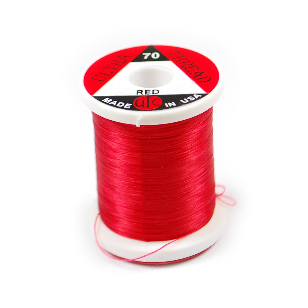 70 Denier Ultra Thread - Red