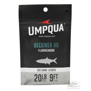 Umpqua Deceiver HD Big Game Fluorocarbon Leaders
