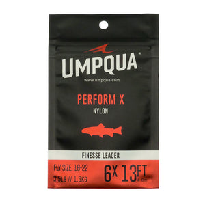 Umpqua Perform X Finesse Leaders - 13 ft - Fly Fishing Leaders