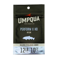 Umpqua Perform X HD - Steelhead/Salmon Leaders - 5-foot and 8ft - Fly Fishing Leaders