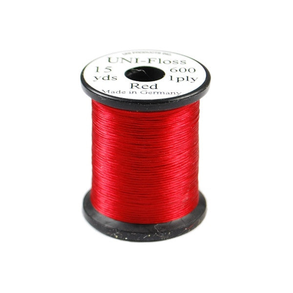 Uni Single-Strand Floss - Red