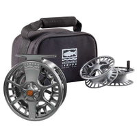 Waterworks-Lamson Liquid Reel 3-Pack - Smoke