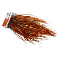 Whiting Bronze Dry Fly Rooster Saddles - Brown