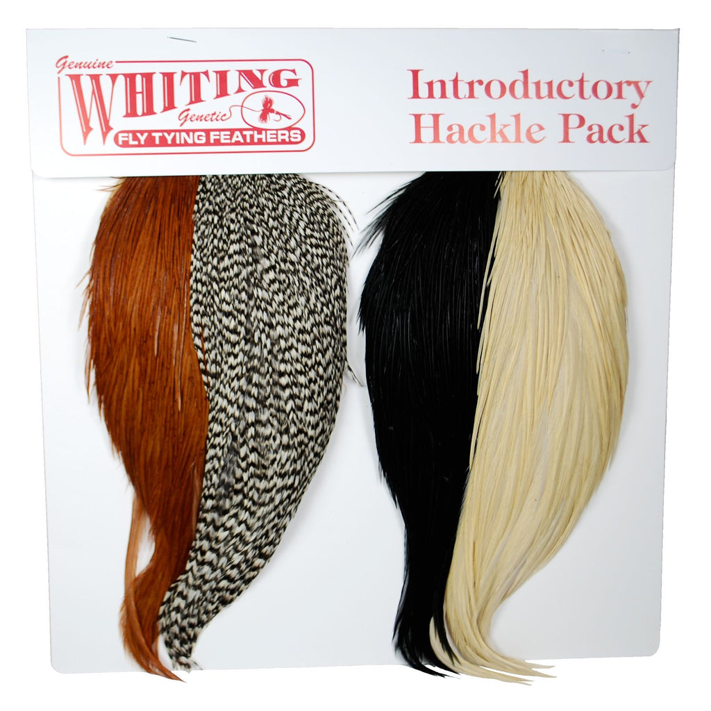 Whiting Introductory Hackle Pack - Pacific Fly Fishers