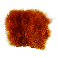 Wooly Bugger Marabou - Rusty Brown