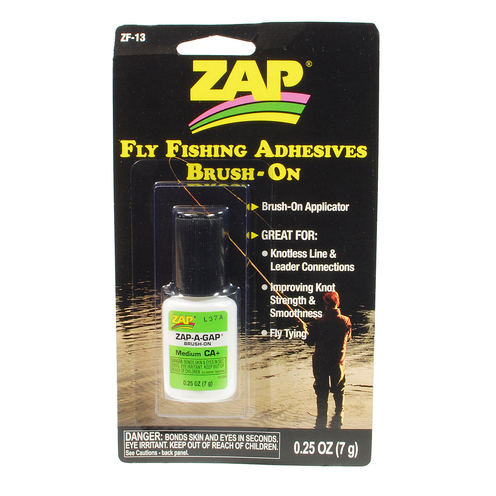 ZAP-A-Gap Brush On - Fly Fishing Glue Adhesive