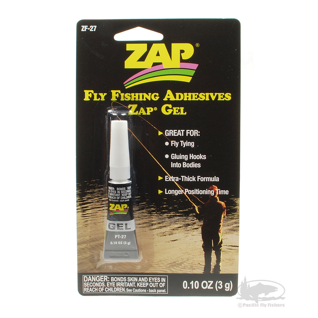 ZAP Gel Fly Fishing Adhesive