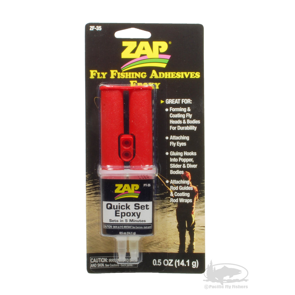 ZAP Quick Set Epoxy - Fly Fishing Adhesive