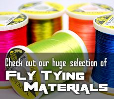 The largest selection of fly tying materials on the net!