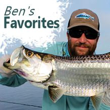 Ben's our local salt-water expert, check out his favorite picks!