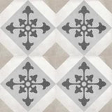 "Shnier Tile Sand Northstar Deco - per SqFt / 8""x8"" Geoshapes - Tile"