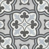 "Shnier Tile Tide Baroque Deco - per SqFt / 8""x8"" Geoshapes - Tile"