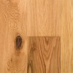 "Vintage Hardwood 10"" Long Length / White Oak Natural - per SqFt Hand Scraped White Oak Solid Sawn - Hardwood"
