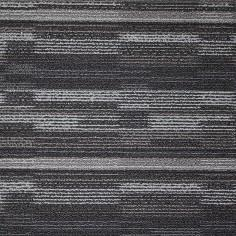 Shnier Carpet Tile Charcoal - per SqFt Cubix Modular - Carpet Tile