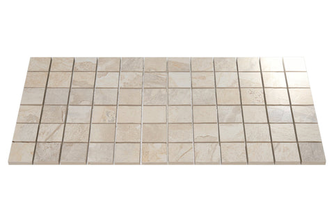 "Ceratec Tile 2"" x 2"" / Almond - per SqFt Slaty - Tile"