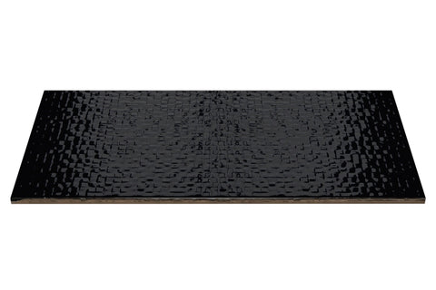 Ceratec Tile Black - per SqFt Tessara - Tile