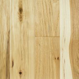 "Vintage Hardwood 5"" / Hickory Natural - per SqFt Hand Scraped Hickory Solid Sawn - Hardwood"