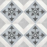 "Shnier Tile Tide Northstar Deco - per SqFt / 8""x8"" Geoshapes - Tile"