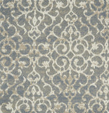 Stanton Carpet Ice Blue - per SqFt Ornate - Carpet