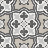 "Shnier Tile Sand Baroque Deco - per SqFt / 8""x8"" Geoshapes - Tile"
