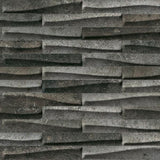 "Shnier Tile Black - Muretto - per SqFt / 12"" x 24"" CastleStone - Tile"