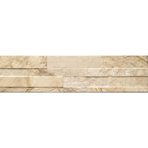 Beige Ames Gioia 3D Tile, Wall Tile, Accent Tile, Backsplash Tile, Porcelain Tile, Design