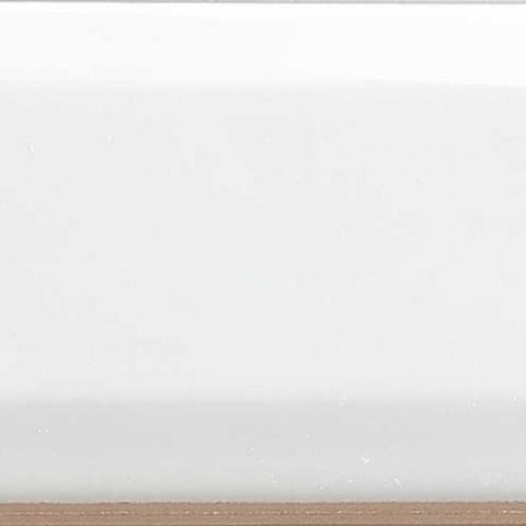 "Shnier Tile White Bevel - per SqFt / 3"" x 12"" Wall Classics White - Tile"