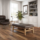 Vintage Hardwood Natural - Smooth - per SqFt / 4-3/8 / Select V Northern Solid Sawn Black Walnut - Hardwood