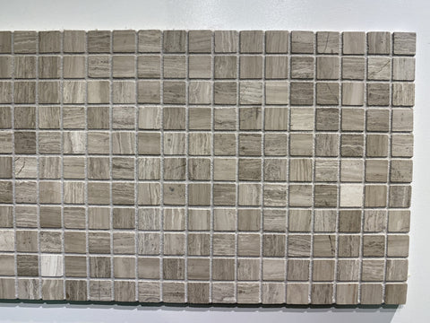 "Timberstone Tile SALE - Light Woodridge 1""x1"" Mosaic - Marble"