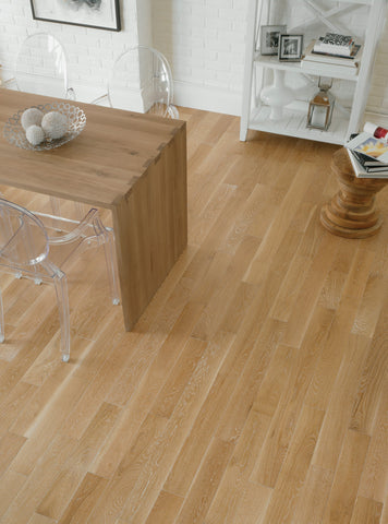 Lauzon Hardwood Beachwood / 3/4 x 3-1/4 Solid Hamptons White Oak - Hardwood