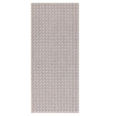 "Euro Tile Tile Argent/Light Grey - per SqFt / 10"" x 20"" Day - Tile"