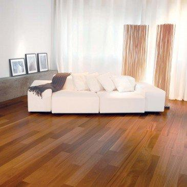 "Mirage Hardwood ""5"" x 1/2'' Engineered / Sapele - per SqFt Exotic Sapele - Hardwood"