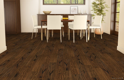 Lauzon Hardwood Navajo Brown / 0.47 x 5 Engineered Homestead Red Oak - Hardwood