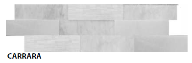 "Carrara Muretto Tile, Backsplash Tile, Wall Tile and Accent Tile 1-1/2"" x 8"""