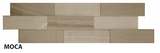 "Moca Muretto Tile, Backsplash Tile, Wall Tile and Accent Tile 1-1/2"" x 8"""