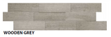 "Wooden Grey Muretto Tile, Backsplash Tile, Wall Tile and Accent Tile 1-1/2"" x 8"""
