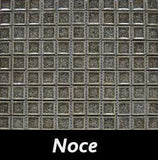 Noce Crackle Square Backsplash and Wall Tile 1x1