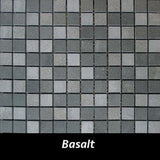 "Regina Hardwood Flooring Center Backsplash 7/8"" x 7/8"" - Basalt - per SqFt Pietre Antiche - Tile"