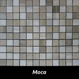 "Regina Hardwood Flooring Center Backsplash 7/8"" x 7/8"" - Moca - per SqFt Pietre Antiche - Tile"