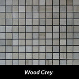 Wood Grey Pietre Antiche Wall Tile, Backsplash TIle, Mosaic Tile and Accent Tile 7/8x7/8