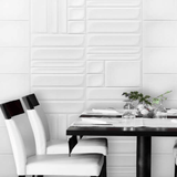 White Chic Backspash and Wall Tile