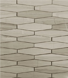 Rhombo Mosaic Tile, Wall Tile, Floor Tile, Backsplash Tile and Accent Tile 5x1-3/8