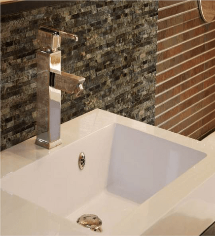 Splitface Marble Wall Tile, Backsplash Tile and Accent Tile 6x24