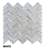 White Freccia Wall Tile, Backsplash and Tile Herringbone Tile