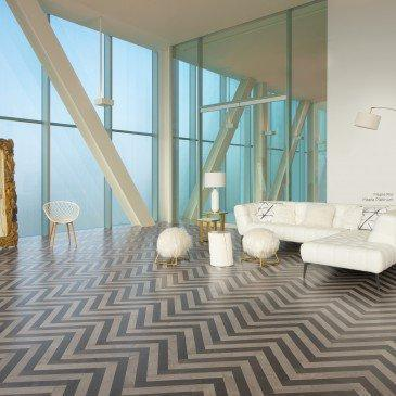 Regina Hardwood Flooring Center Hardwood Maple Platinum / Rio Herringbone- Hardwood