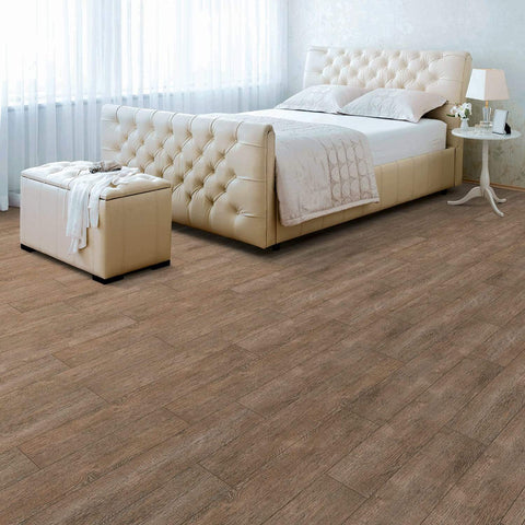 Regina Hardwood Flooring Center Luxury Vinyl Barnside Oak - per SqFt / 6 x 48 Easy Fix - LVP