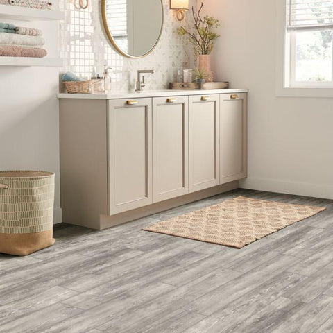 "Regina Hardwood Flooring Center Luxury Vinyl Opaque Passage / 6"" x 36"" Alterna Plank - LVT"