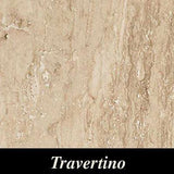"Regina Hardwood Flooring Center Tile 23.5"" x 23.5"" - Travertino - per SqFt Marmo D - Tile"